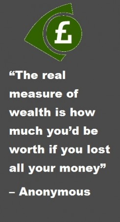 The real measure of wealth