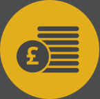 Money and benefits icon